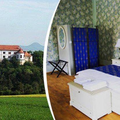 Dvě noci pro 2 v pokoji na zámku se snídaní a prohlídkou zámku