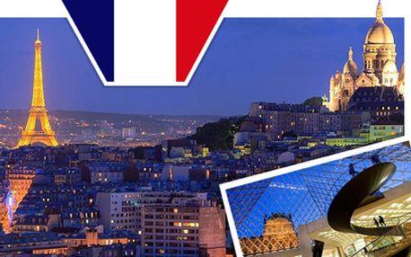 Do letní Paříže za 1690 Kč! 7 termínů na výběr!