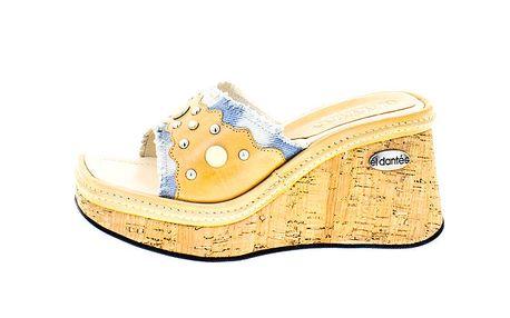 Dámské béžové sandály El Dantes