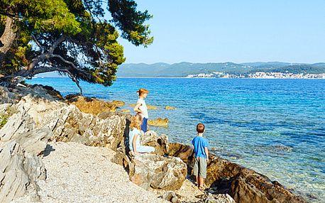 First Minute! 8denní rodinná dovolená v letovisku Ruskamen v Chorvatsku