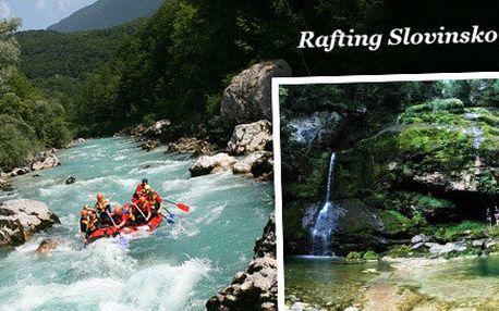 4denní rafting ve Slovinsku na řece Soča