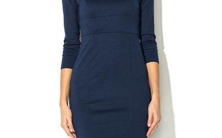 Dámské tmavě modré šaty Eccentrica