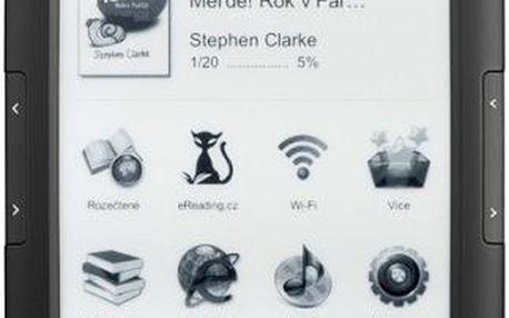 Čtečka e-knih eReading.cz START 2 černá + dárky