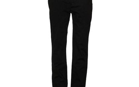 Pánské černé chino kalhoty Eleven Paris
