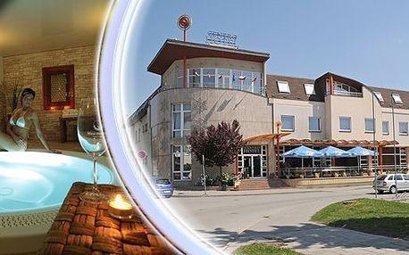 Luxusně strávené3 dny s wellnessv samém srdci jižní Moravy ve4* Wine Wellness Hotelu Centro Hustopeče.Romantická večeře, vstup do Wine Wellness -finská sauna, solná vinná lázeň, kamenná bylinková lázeň, whirlpool a procedury!