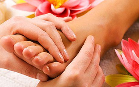 90 minut báječné relaxace - reflexní diagnostika z chodidel + masáž chodidel + klasická masáž zad a šíje!