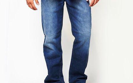 Pánské modré džíny s šisováním Dickies