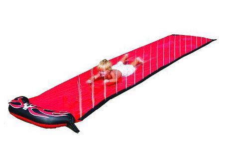 Bestway 52096B - Vodní skluzavka červená - délka 488 cm