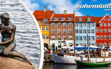 1 den v Kodani. Malá mořská víla i královské zahrady