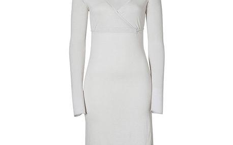 Dámské ocelově šedé šaty Enelle