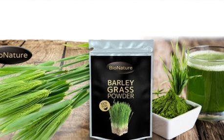 Bio zelený ječmen za 262 kč! Pryč s chemií! Dejte svému tělu to, co potřebuje! Ječmen má nejvyšší výživovou hodnotu! Obsahuje minerály, bílkoviny a enzymy! Má detoxikační, regenerační a vyživující účinky!