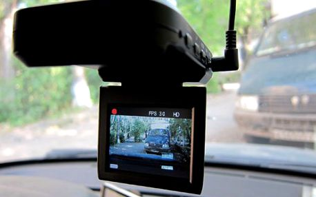 HD Portable kamera do auta s nočním viděním
