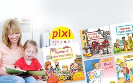 Vyberte 8 KNIH pro DĚTI ze série POPULÁRNĚ NAUČNÝCH KNIH PIXI za 229 VČETNĚ POŠTOVNÉHO! Cílem PIXI knížek je vzdělávat malé děti od 3 -7 let! Vysoká mobilita knížek díky kapesní velikosti a bohaté ilustrace!