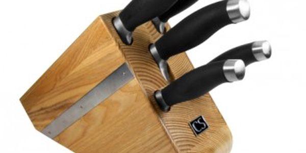 Sada nožů v bloku 6 ks SHIKOKU CS SOLINGEN CS-036461