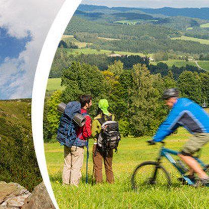 3 dny pro 2 osoby v krásném prostředí Orlických hor