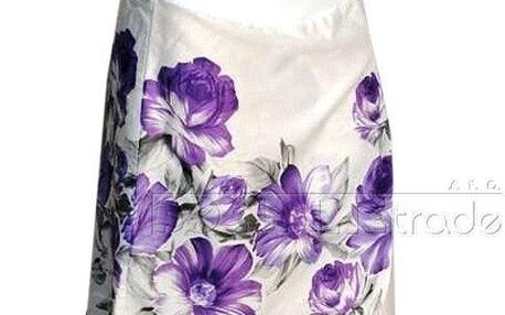 Těhotenská sukně KATKA - fialová vel. M