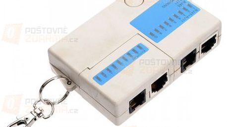Mini tester síťových kabelů a poštovné ZDARMA! - 23405315