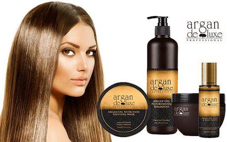 Nyní na slevolam.cz kanadská kosmetika Argan De Luxe. Nabízíme Vám kompletní sadu, která obsahuje Arganový olej na vlasy a pleť, Arganovú výživu na vlasy a Arganový Deluxe šampon na vlasy jen za 799 kč!