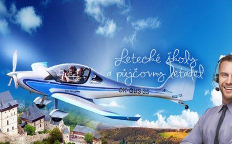 VYHLÍDKOVÝ LET Vám nenabídneme! Zapůjčíme Vám letoun z naší flotily na jakýkoliv výLET a naučíme Vás třeba i létat! 20min letu VČETNĚ veškerých poplatků, paliva a našeho pilota-instruktora jen za 750 Kč! Platnost poukazu 1 ROK!