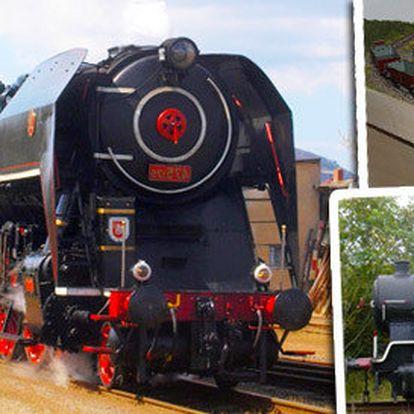 Rodinná návštěva železničního muzea u Prahy