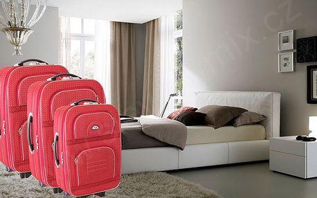 Sada 3 cestovních kufrů na kolečkách DENR