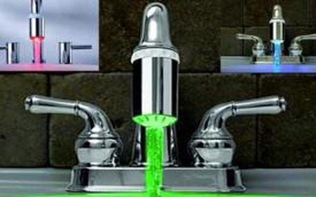 LED násada - vodovodní kohoutek