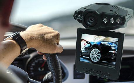 HD kamera do auta s nočním režimem