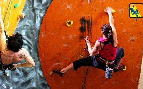 120minutový individuální kurz lezení pro 1-2 osoby