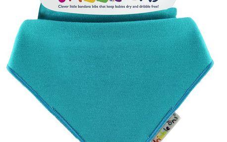 Dribble Ons - dětský šátek - bryndák - Turquoise