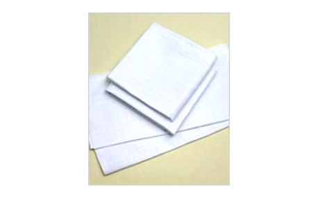 Hybler dětská bavlněná plena bílá 10 ks - 80 x 80 cm