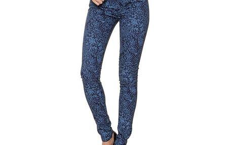 Dámské modré vzorované džíny 2nd One
