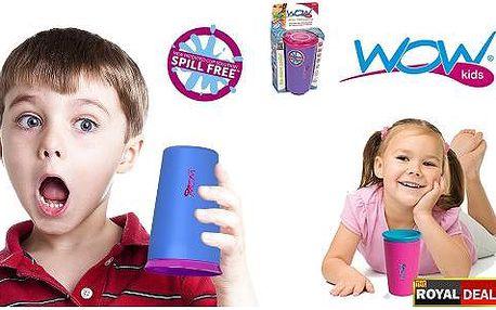 WOW CUP - nerozlitelný hrneček pro děti