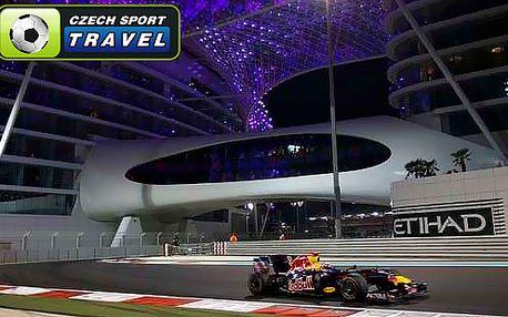 Zájezd do SAE na F1 ABU DHABI s ubytováním v Dubaji