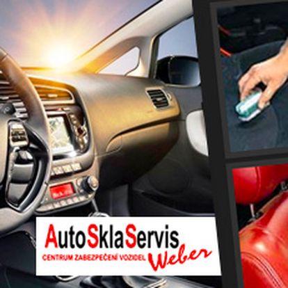 Kompletní čištění interiéru vašeho auta: sezónní údržba za minimální cenu!