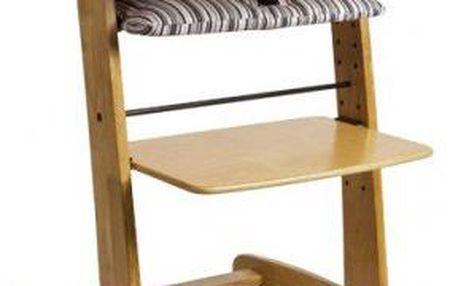 ZOPA Design Rostoucí jídelní židlička GROW UP - natur