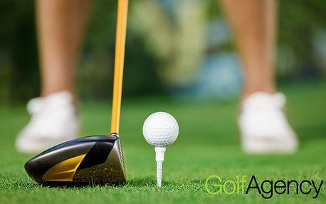 Golfový kurz ALL INCLUSIVE se zkouškou golfové způsobilosti a ziskem HCP 54 pro dva