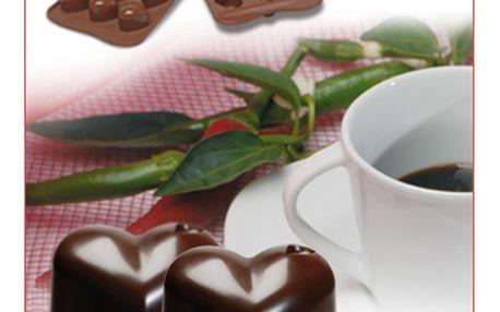 Silikonová forma na čokoládu Monamour (srdce)