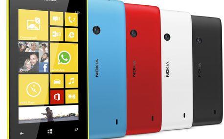 Nokia Lumia 520 Smartphone střední třídy s exkluzivním fotoaparátem, pro snadné sdílení a každodenní zábavu