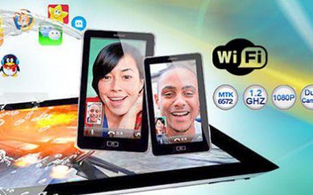 Super 7-palcový tablet 3G s GPS a telefonem v jednom nyní na slevolam.cz jen za 2499 Kč! Foťte, hrajte hry, brouzdejte internetem, sledujte filmy - kdykoliv a kdekoliv! Tento 7palcový tablet je to pravé pro vás! Kompaktní rozměry a ohromující funkce za ne