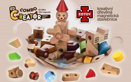 Magnetická stavebnice Edtoy Creator Combo box