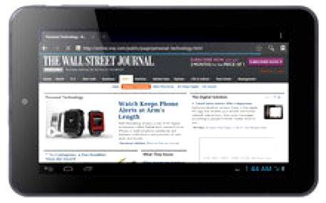 Sedmi palcový tablet s WiFi a nejpopulárnějším systémem Android 4.1 Jelly Bean NextBook Premium 7HD