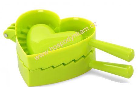 Forma na plněné pečivo - srdce