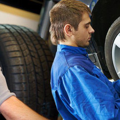 Přezutí pneumatik a kompletní prohlídka vozu