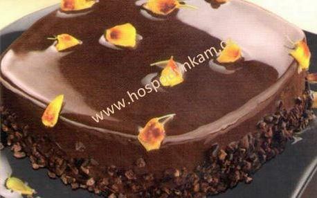 Netuhnoucí čokoládová glazura 200g