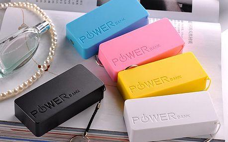 Externí baterie - Power banka 2600mAh a 5600mAh