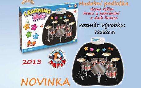Interaktivní hudební podložka pro děti