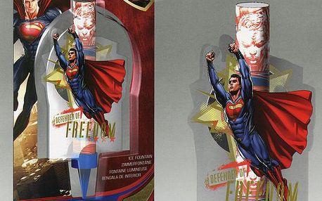Dortová svíčka fontána - Superman