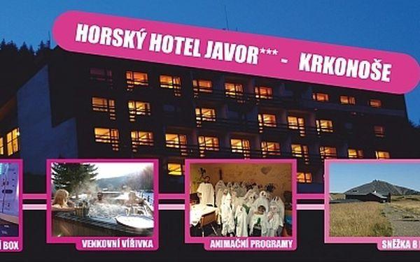 Babí léto v Krakonošově!! Krkonošská pohádka na 3-5 dní s POLOPENZÍ v oblíbeném BABYFRIENDLY hotelu s WELLNESS, ANIMAČNÍM PROGRAMEM a dětmi do 6-ti let ZDARMA!4