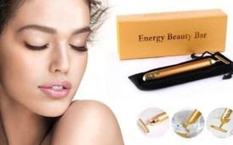 Luxusní galvanická žehlička - Golden Beauty Bar