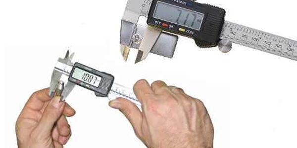 Kvalitní posuvné měřítko se zabudovaným LCD displejem. Měřte přesně a s jistotou !